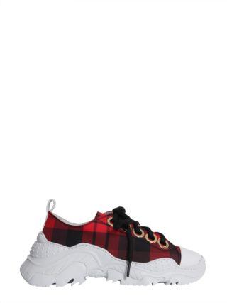 N.21 Oversize Running Sneakers (rood)
