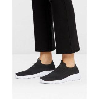 Bianco Gebreide Sneakers