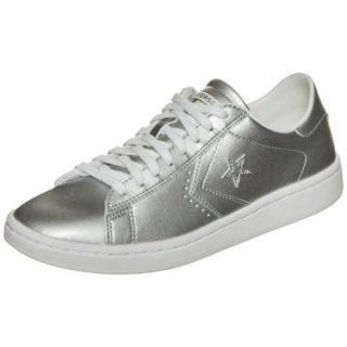 converse-pro-leather-lp-metallic-ox-sneakers-dames-zilver