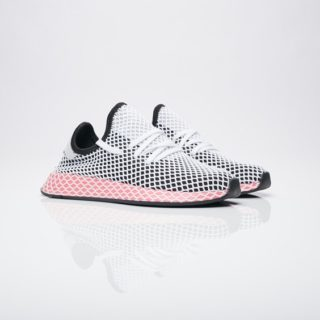 buy popular d7e4f 6e9eb adidas Deerupt Runner w Core BlackCore BlackChalk Pink S18 (CQ2909)