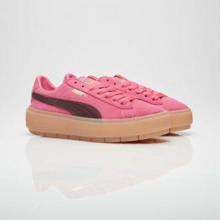 Puma Suede Platform Trace Block Pink (367057-02)