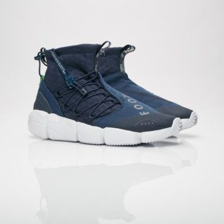 3f7deb181c5422 Nike Air Footscape Mid Utility Obsidian Thunder Blue Spinach Green (924455- 400)