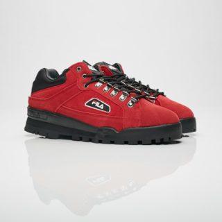 Fila Trailblazer Suede Pompein Red/Black/White (1SH40280-603)