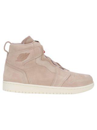 Nike Nike Ltd Wmns Air Jordan 1 High Zip (beige/rood/bruin)