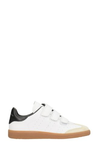 Isabel Marant Isabel Marant Beth White Leather Sneakers (wit)
