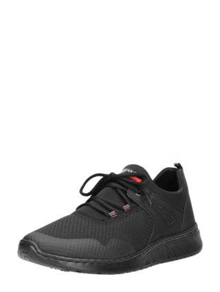 Rieker heren sneakers – Zwart