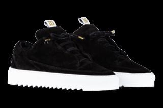 Mason Garments Milano – Suede RAF – Black (FW18)