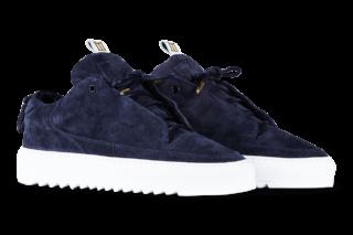 Mason Garments Milano – Suede RAF – Navy (FW18)