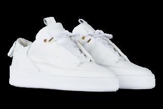 Mason Garments Milano Leather - White (FW17BLLWH)