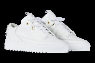 Mason Garments Milano Leather RAF – White (SS18)