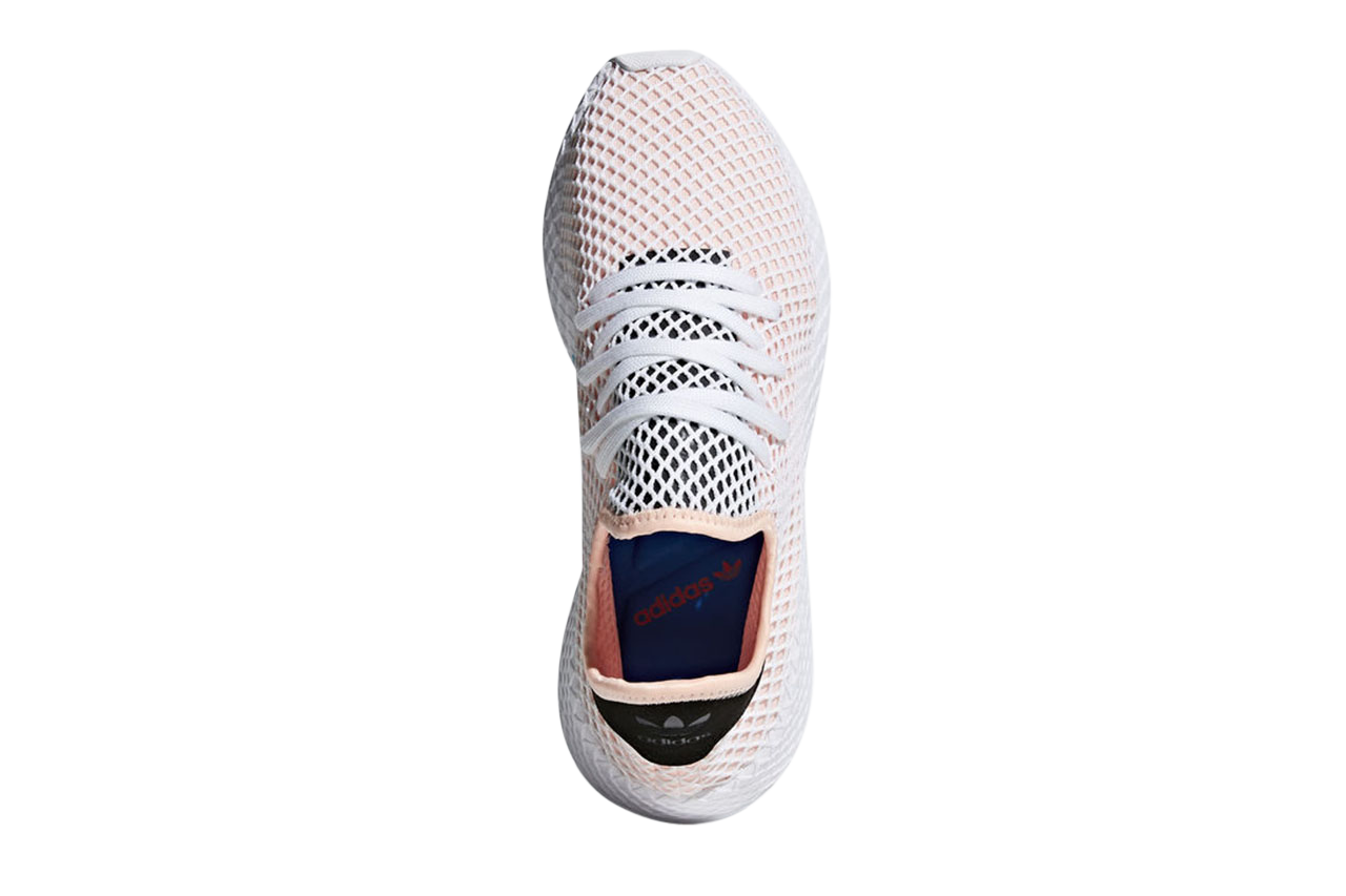 Licht Roze Sneakers : Adidas deerupt runner licht roze adidas