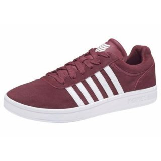 k-swiss-sneakers-court-cheswick-suede-rood
