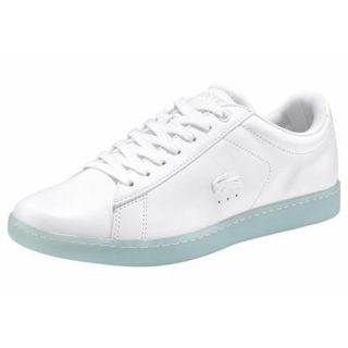 Chaussures De Sport Lacoste Femmes Carnaby Evo 316 2 - Gris - 37,5 Ue