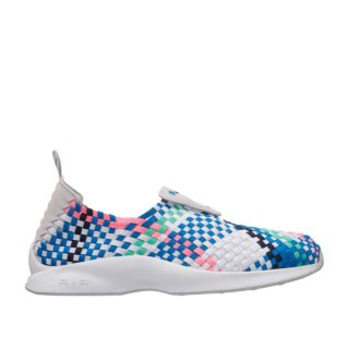 Nike Air Woven (wit/blauw)