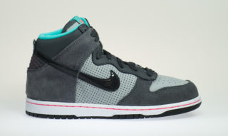Dunk High (GS) (WLF GREY/ANTHRACT-CLYPS-DRK-GRY)
