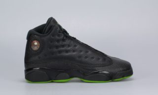Air Jordan 13 Retro BG 'Altitude' (Black) (BLACK/ALTITUDE GREEN)