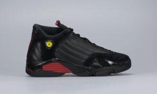 Air Jordan 14 Retro (BG) (Black) (BLACK/VARSITY RED-BLACK)