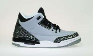 Air Jordan 3 Retro BG (WOLF GREY/METALLIC SILVER-BLK)