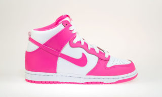 Dunk High ND (PS) (WHITE/PINK POW)