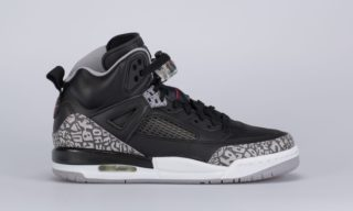 Jordan Spizike (BG) (Black) (BLACK/VARSITY RED-CEMENT GREY)