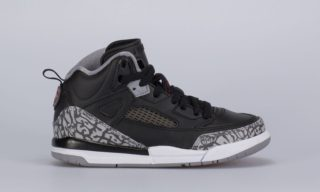 Jordan Spizike (PS) (Black) (BLACK/VARSITY RED-CEMENT GREY-WHITE)