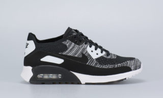 Wmns Air Max 90 Flyknit Ultra 2.0 (BLACK7BLACK-WHITE-ANTHRACITE)