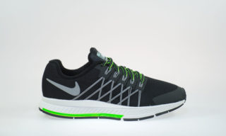 Zoom Pegasus 32 Flash (GS) (BLACK/REFLECT SILVER-PR PLTNM)