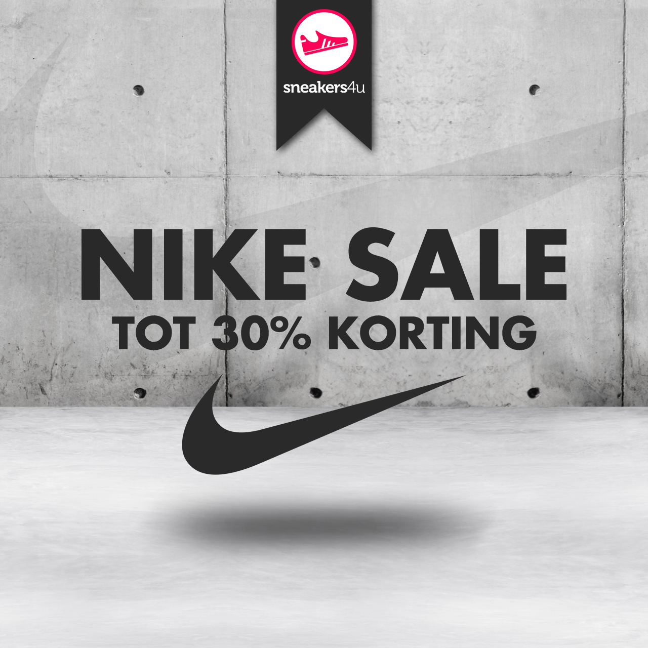 Nike End Of Season uitverkoop