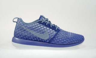 Wmns Roshe Two Flyknit 365 (DEEP ROYAL BLUE/OCEAN FOG-WOLF GREY)