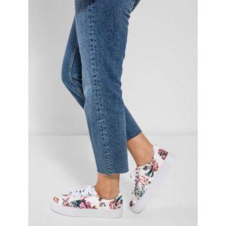 Pieces Bloemen Sneakers