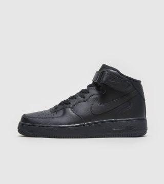 Nike Air Force 1 Mid (zwart)