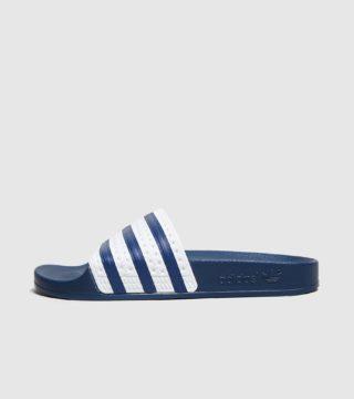 adidas Originals Adilette Slides Women's (blauw/blauw)