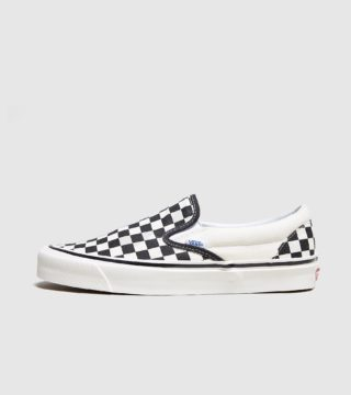 Vans Anaheim Slip-On Checkboard (zwart)