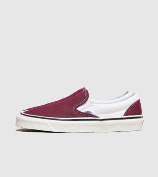 Vans Anaheim Slip On (rood/wit)