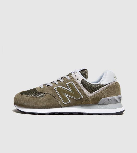 New Balance 574 (groen/wit)