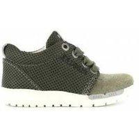 Shoesme Sneaker runflex army leger groen