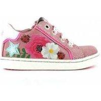 Shoesme Veterschoen urban pink roze