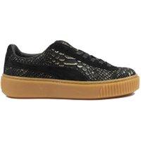 Puma Platform dames sneakers zwart