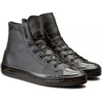 Converse Half hoge zwarte sneaker