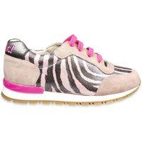 Clic! Runner zebra roze- beige