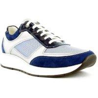 Footnotes veter sneaker wijdte H blauw