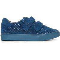 AKID Axel sneaker met klittenband- blauw