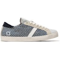 D.A.T.E. Hill low pop sneaker net zwart