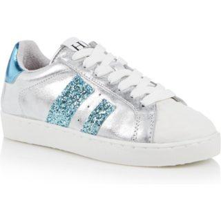 HIP Sneaker met glitter en metallic finish