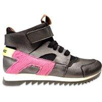 Momino Hoge sneaker scuba grijs-