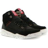 Red Rag Sneakers hoog zwart