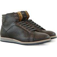 Gino Bianchi Sneakers snake grijs
