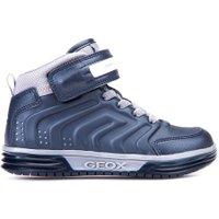 Geox Sneakers argonat navy silver blauw