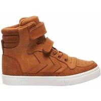 Hummel Sneakers stadil oiled high glazed ginger bruin