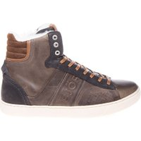 Bjorn Borg Sneaker kansas high fur dark grey grijs